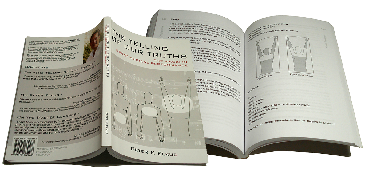peter elkus, the telling of our truths - the magic in great musical performance