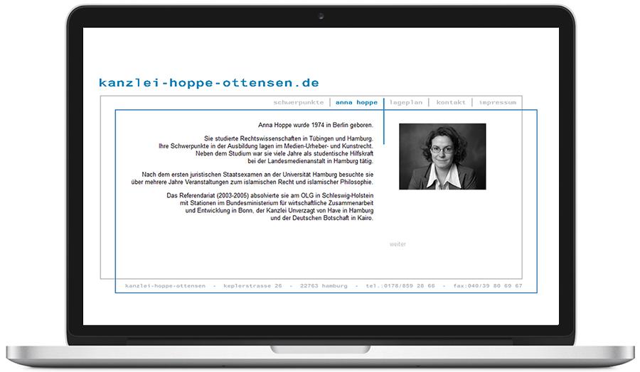website kanzlei-hoppe-ottensen.de