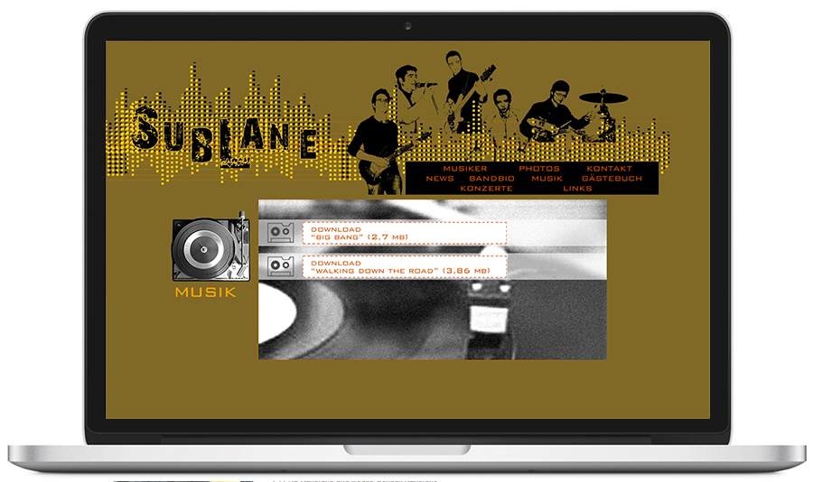 website sublane.de