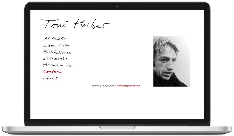 website toni-huber.com